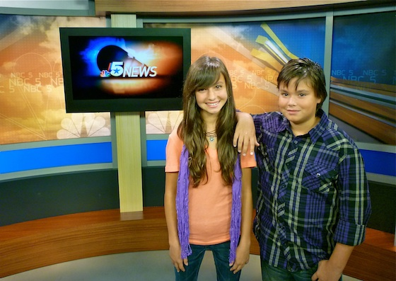 Kileigh and Luke at NBC 5