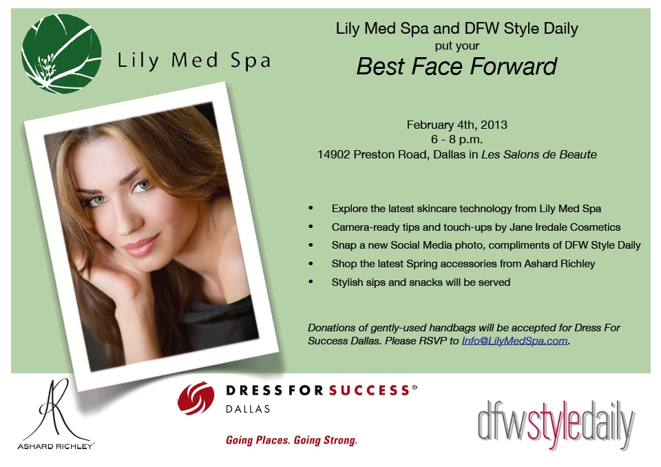 You Are Invited An Evening At Lily Med Spa On Monday