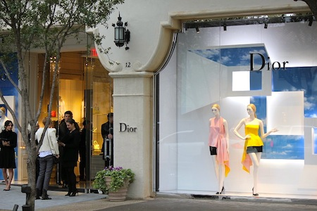 Dior Debuts At Highland Park Village Dfw Style Daily