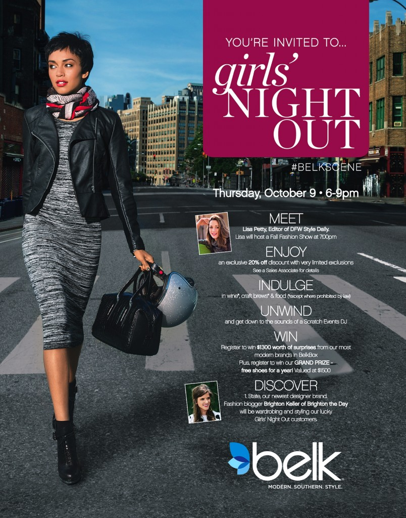 Belk presents a Girls' Night Out celebration