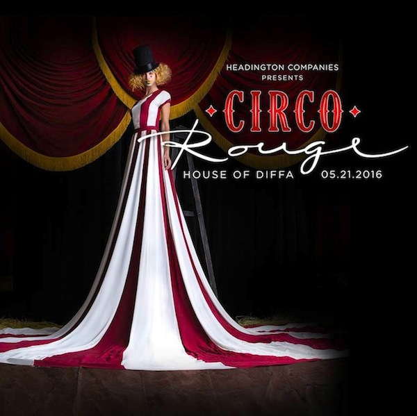 House of DIFFA Circo Rouge Graphic