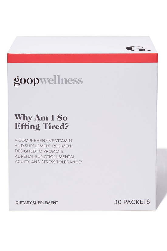 GOOP_30 DAY SUPPLEMENT WHY AM I SO EFFING TIRED_$90