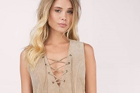 toast-lace-it-genuine-suede-dress