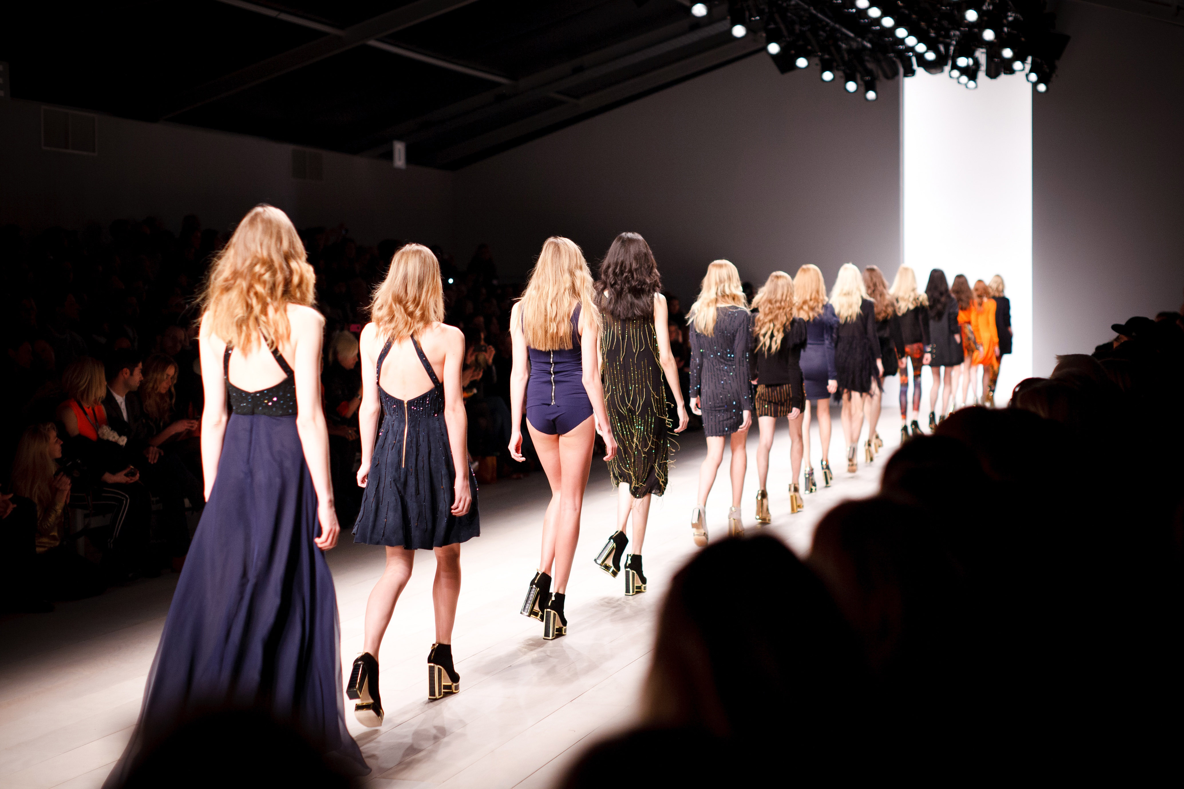 female-models-on-the-walkway-on-fashion-show