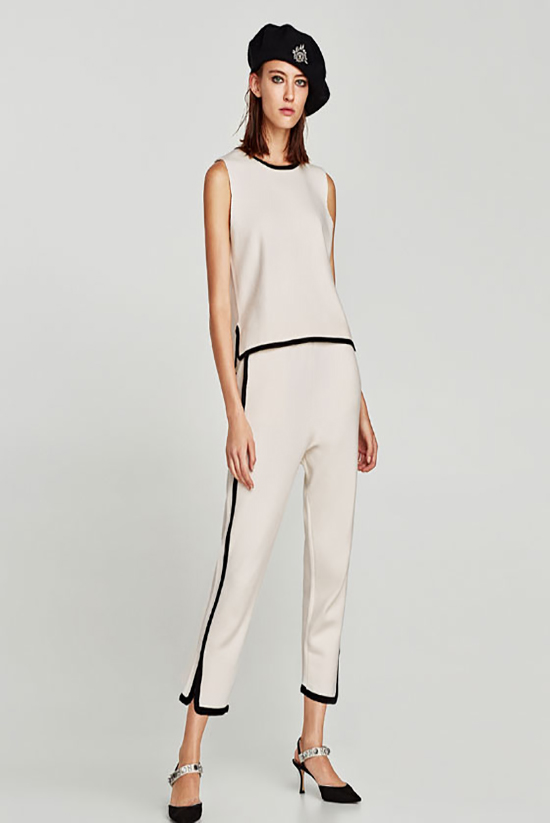 white suit from zara
