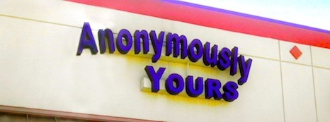 Offbeat Shopping: Anonymously Yours