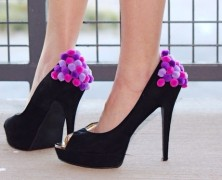 Design It Yourself: Pom-Pom Party Pumps